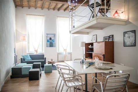 Soothing Apartment In Italy With An Unusual But Practical