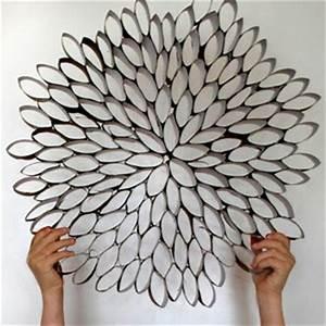 2 idees recup pour decorer les murs idee creativeidee With déco chambre bébé pas cher avec gros pot de fleur en plastique pas cher