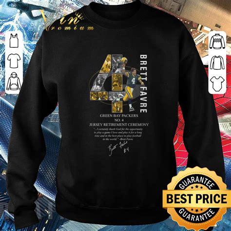 Awesome 4 Brett Favre Green Bay Packers Signature Shirt