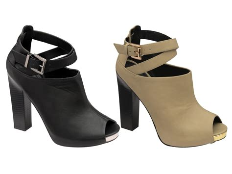 0f4f5847565c Dolcis Strappy Peeptoe Ankle Boots High Heels Womens Sandals Shoes Size Uk  3 8 Ebay