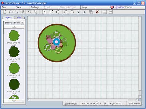 small blue printer garden garden planner help