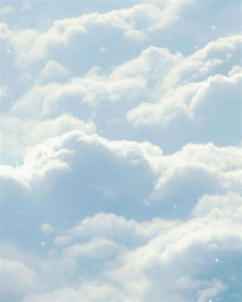 clouds by and baby blue aesthetic blue