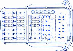 Mercedes Benz E190 1988 Fuse Box  Block Circuit Breaker Diagram  U00bb Carfusebox