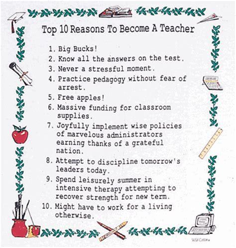Top 10 Ten Reasons To Become A Teacher