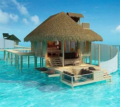 Maldives Resort Vacation Places Villa Desktop Water