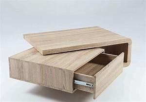 Wohnzimmertisch Sonoma Eiche : couchtisch remo beistelltisch tisch in sonoma eiche schubkasten drehbar ebay ~ Orissabook.com Haus und Dekorationen