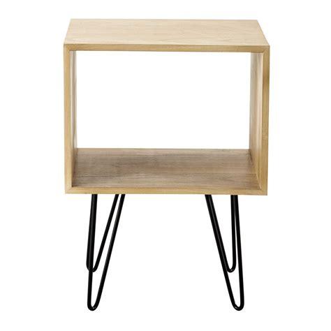 bout de canapé maison du monde brady wooden side table w 40cm maisons du monde