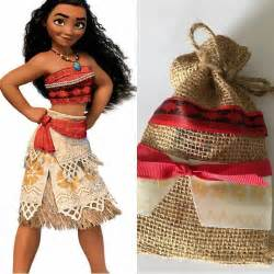 Moana Birthday Party Costumes