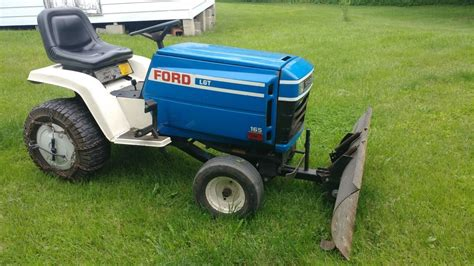 ford tractor ford lgt  lawn tractor ford