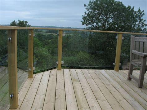 Glass Panel Railings For Decks