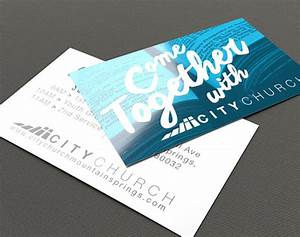 8 church invitation templates free sample example for Church business cards ideas