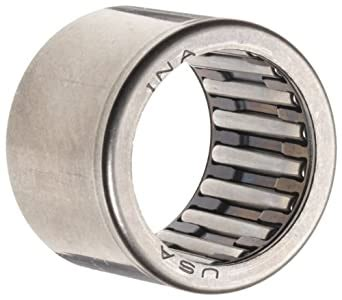 ina sce needle roller bearing caged drawn cup steel