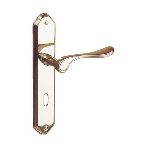 poignee de porte en laiton poign 233 es de porte bermude en laiton poli cadap bricozor