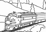 Coloring Caboose Train Steam Pages Printable Long Getcolorings Print sketch template