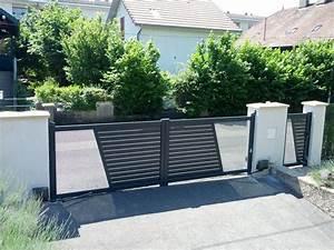 Moteur Solaire Portail Coulissant : automatisme de portail somfy stunning pour motoriser ~ Edinachiropracticcenter.com Idées de Décoration