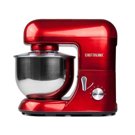stand mixer kitchen mixers cheftronic electric machine 650w 120v speed bowl 5qt sm rated comparison ratings amazon reviewed chart blender