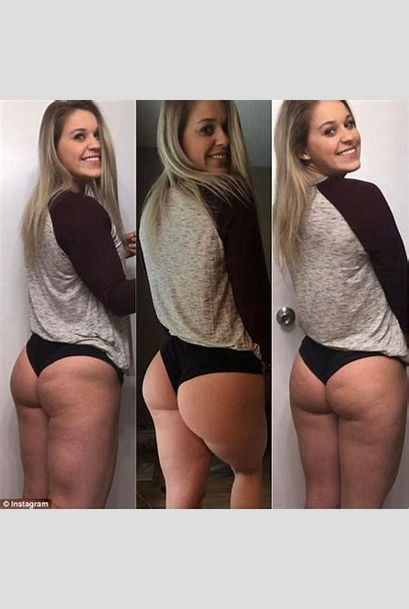 Bodybuilder writes letter addressed to her butt dimple | Daily Mail Online