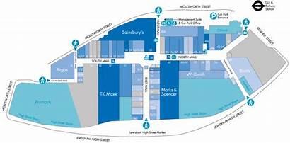 Centre Map Lewisham Floor Shopping Ground