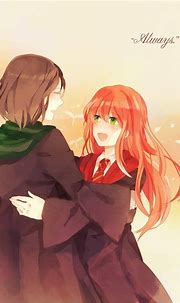 Lily and Severus - Harry Potter Anime Photo (31632691 ...