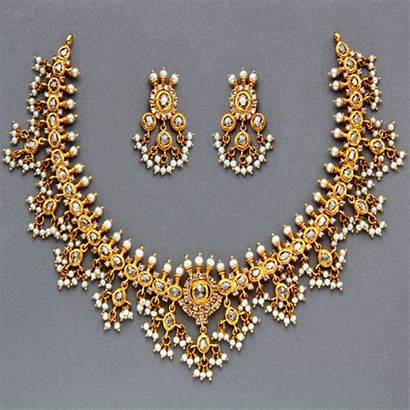 Necklace Gold Indian Jewellery Gutta Traditional Pusalu