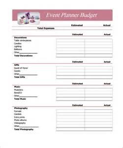 Simple Budget Worksheet Template