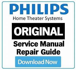 Philips Hts3544 Home Theater System Service Manual And