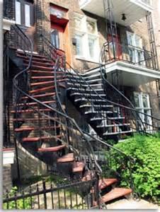 Escalier Colimacon Montreal by How I Met The Poutine Sos Recherche Appartement 224