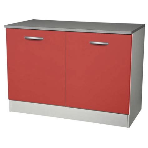 porte de meuble de cuisine meuble de cuisine bas 2 portes h86x l120x p60cm