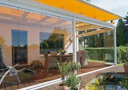 Glass Patio Design Modern Glass Patio Design