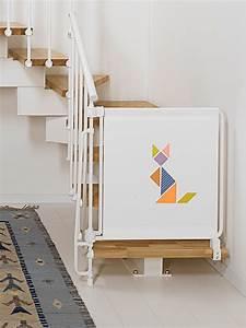 Barriere De Securite Escalier Castorama : barri re de s curit enfants pour escaliers en kit kalypto ~ Melissatoandfro.com Idées de Décoration