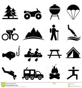 Outdoor Recreation Clip Art Icon