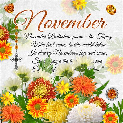 november colors what is november birthstone color and flower monthly