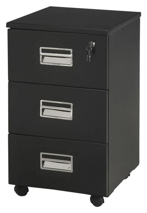 caisson de bureau noir