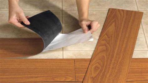 flooring peel  stick vinyl installation