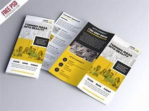 Free PSD : Multipurpose Tri-fold Brochure PSD Template by ...
