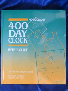 Horolovar 400 Day Anniversary Clock Repair Guide
