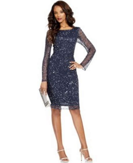 Long sleeved dresses for wedding guests