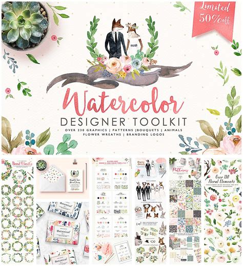 watercolor designers toolkit