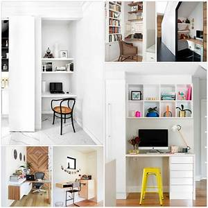 Kleines Büro Einrichten Ideen : home office einrichten und dekorieren 40 anregende ~ Lizthompson.info Haus und Dekorationen