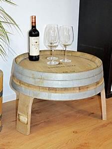 Tisch Aus Holzkisten : weinfass tisch halbe h he ~ Frokenaadalensverden.com Haus und Dekorationen