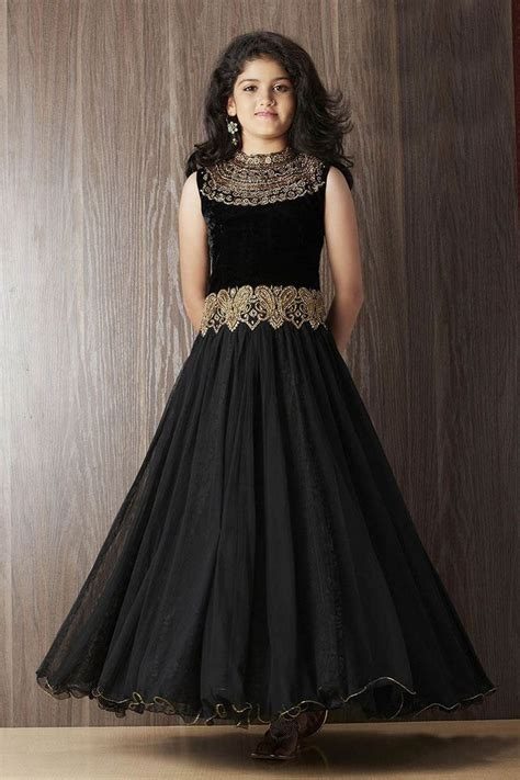 picture  designer black party gown gowns  girls