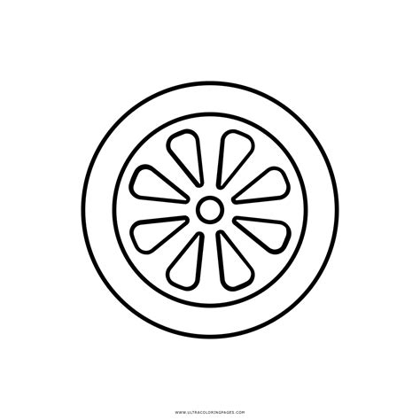 1000 imagem de roda para colorir