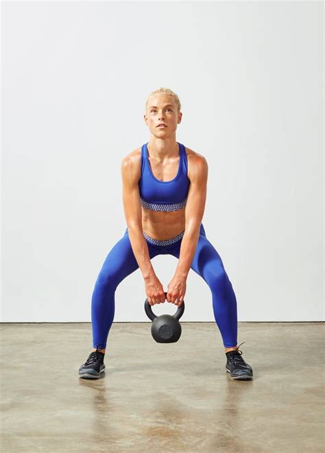 kettlebell core workout calories burn