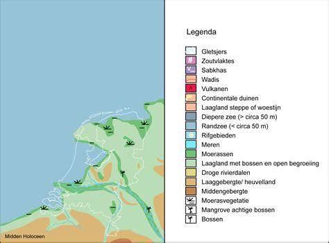 Midden-Hoceen Nederland 7000 jaar geleden