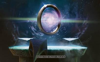 Fantasy Magic Ring Sol Circle Gathering Mtg