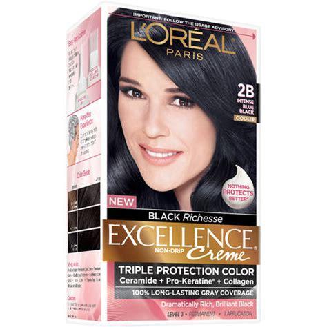 loreal paris excellence creme hair color  intense blue