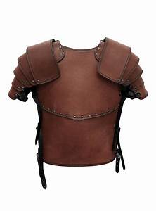 Mercenary Leather Armor brown - maskworld com