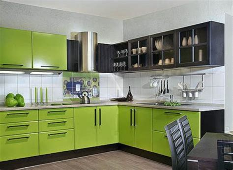 refreshing green kitchen design ideas godfather style
