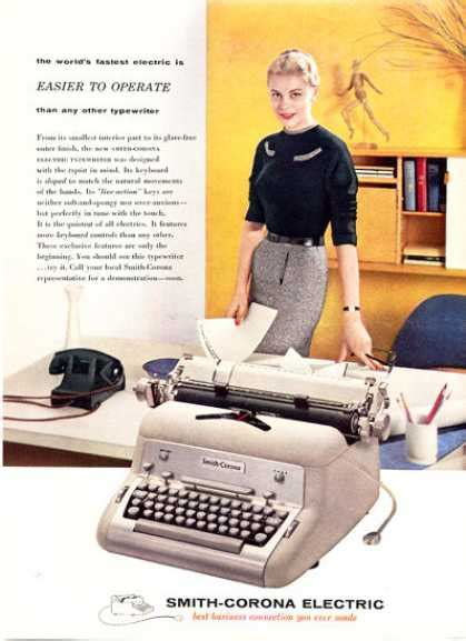 russian revival  typewriters mid century mobler
