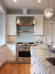 Light Blue Kitchen Backsplash Light Blue Subway Tile Backsplash Kitchens Grey Walls Subway Tile Backsplash